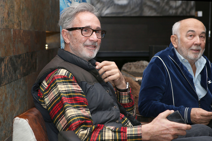 """Thierry Lhermitte à Val d'Isère ce 11 janvier pour les 40 ans des """"Bronzés font du ski""""."""