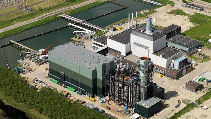 De huidige warmtekrachtcentrale van Nuon in Diemen.