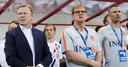 Kees van Wonderen (rechts) werkte tot eind 2019 als assistent van Oranje-bondscoach Ronald Koeman (links).