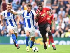Manchester United opnieuw pijnlijk onderuit bij Brighton