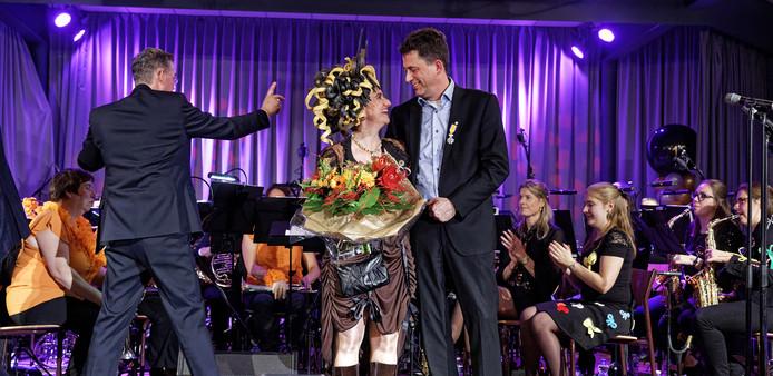 Remco de Haan ontving zaterdag een onderscheiding.