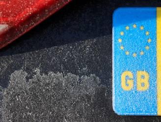 Britse bestuurders moeten kentekenletters GB vervangen door UK als ze naar buitenland reizen