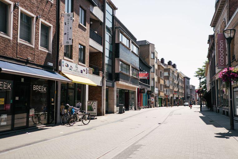 Een aantal gemeenten in de Kempen (op de foto: Turnhout) en Limburg kampen ook met een sterk verouderende bevolking. Beeld Damon De Backer