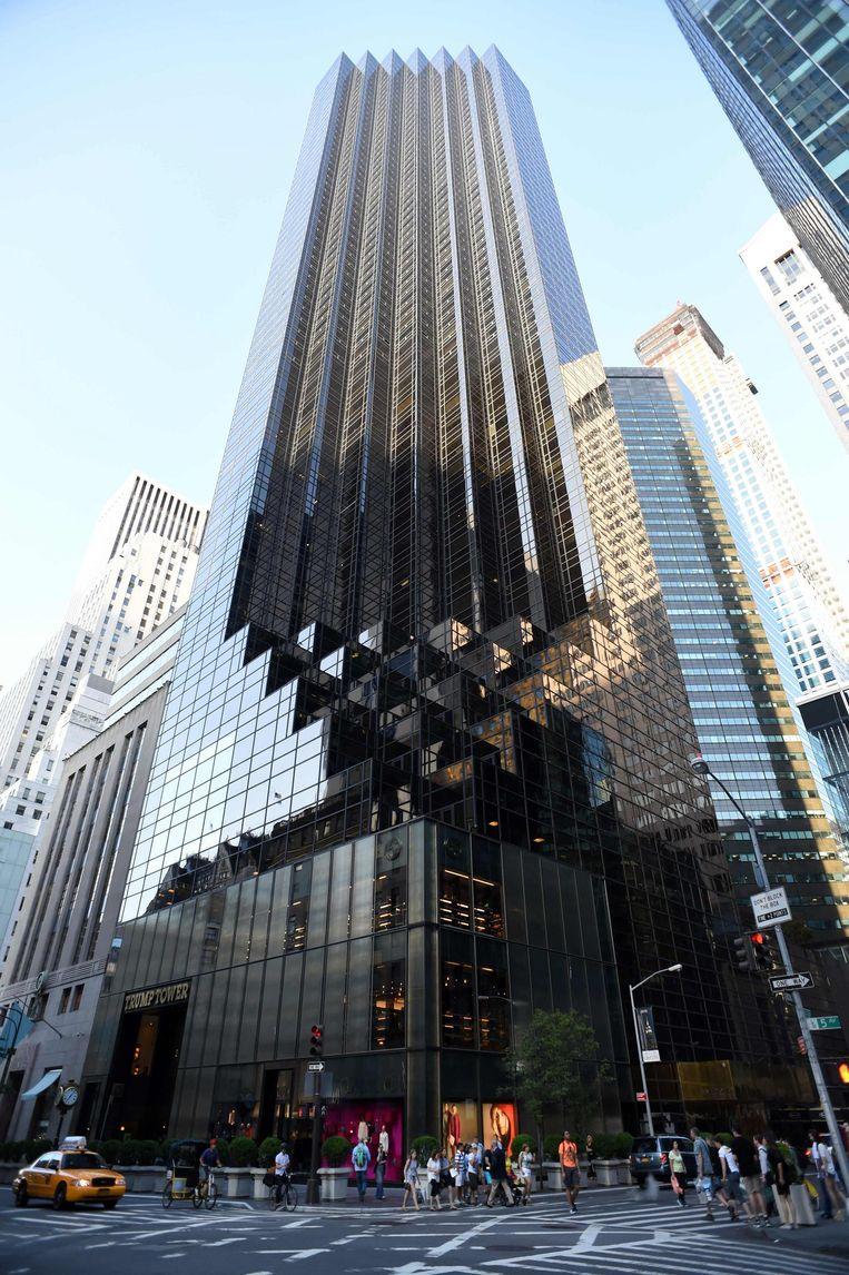 Trump Tower zou als nieuw adres 725 President Barack H. Obama Avenue kunnen krijgen. Beeld AFP