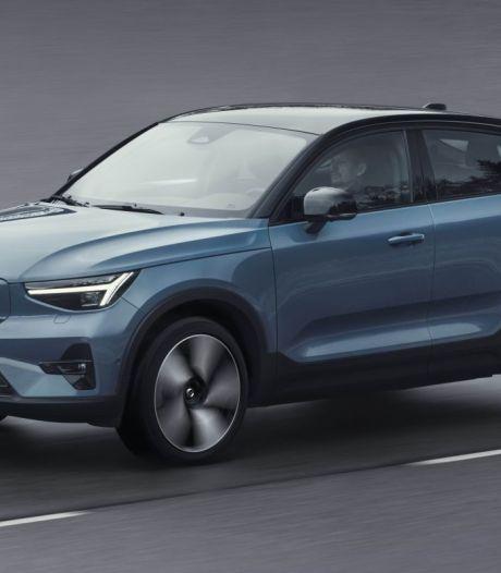 Nieuwe, elektrische Volvo C40 trekt een caravan tot 1.800 kg