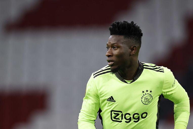 Ajaxkeeper Andre Onana. Beeld ANP