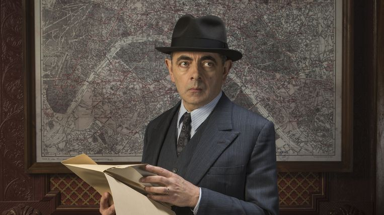 Jules Maigret (ROWAN ATKINSON) Beeld RV
