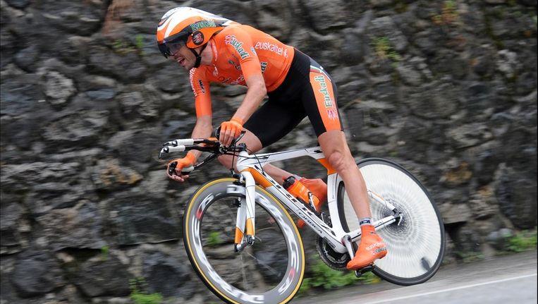 Sanchez zag serieus af in de openingstijdrit van 11 km. Beeld PHOTO_NEWS