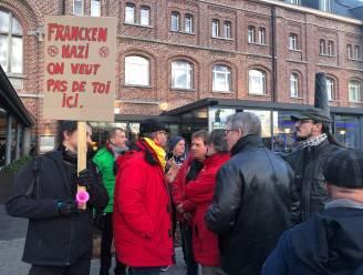 """Francken dient klacht in na protest Verviers, PS-burgemeester: """"Hebben het recht te betogen tegen extremist"""""""