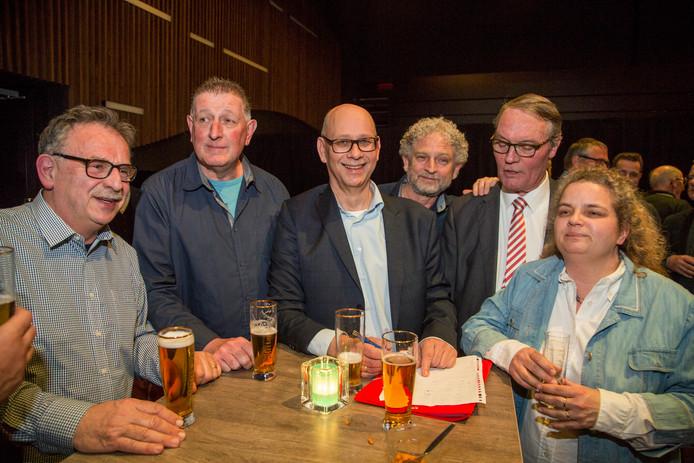 Gemeenteraadverskiezingen Gemeente Loon op Zand. Gemeentebelangen aan kop.
