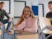 Coen, Fleur en Eddy leren zich suf voor hun examen en stralen na een onverwachte pluim: 'Jullie zijn kanjers'