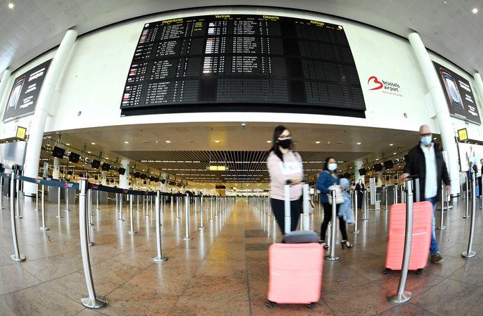 L'aéroport de Zaventem, le 15 avril 2021.