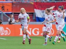Deense voetbalsters toch weer in conflict