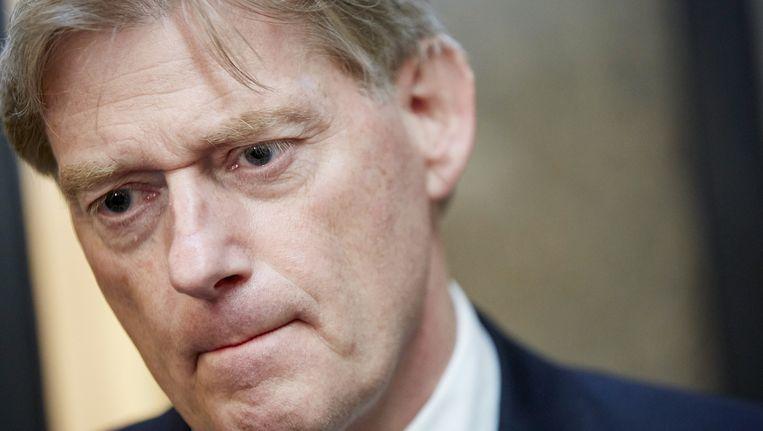 Staatssecretaris Martin van Rijn twee weken geleden na het debat in de Tweede Kamer over de aanhoudende betalingsproblemen met het persoonsgebonden budget (pgb). Beeld anp