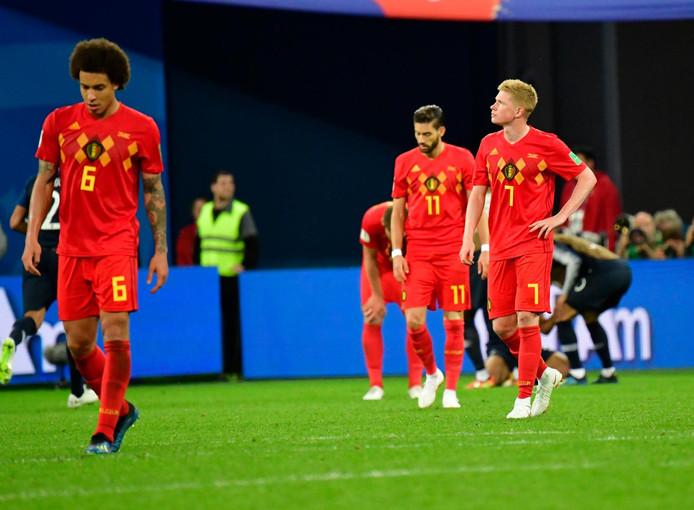 10 juillet 2018. La Belgique s'incline contre la France en demi-finale du Mondial