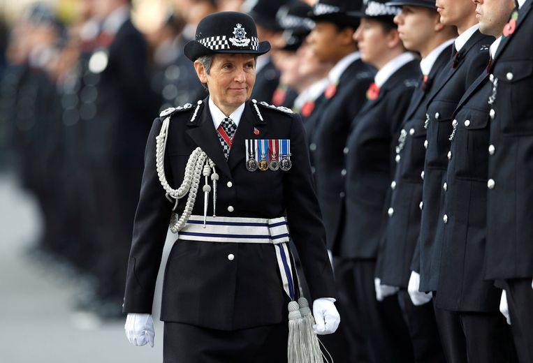 Cressida Dick, hoofd van de Metropolitan Police in Londen.
