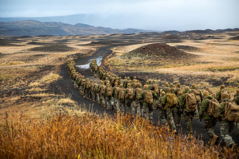 NAVO-oefening Trident Juncture in Noorwegen.