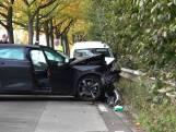 Twee gewonden bij frontale aanrijding in Dongen