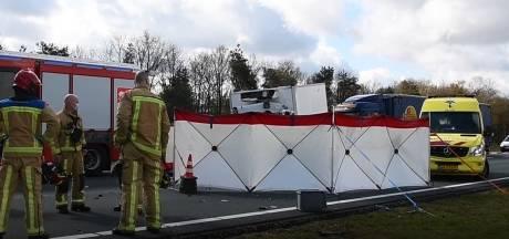 Dodelijk ongeluk op de A67 bij Eersel, snelweg dicht richting Eindhoven