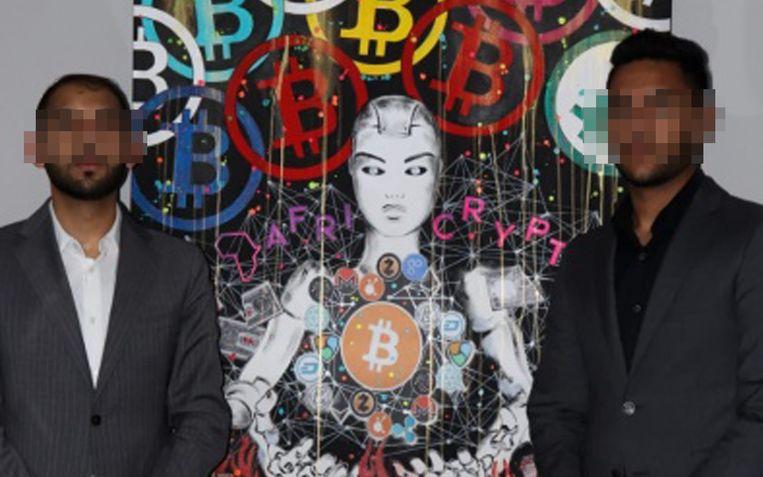 De broers Raees en Ameer Cajee zijn spoorloos verdwenen met 69.000 bitcoins. Beeld Wikialpha