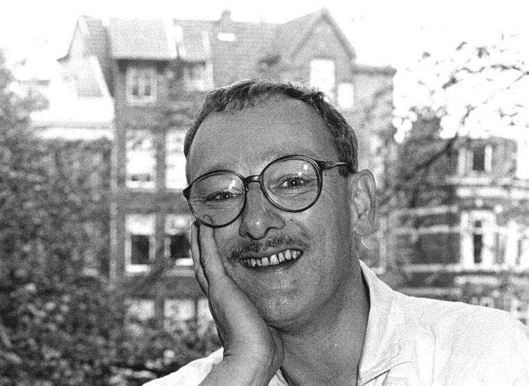 Konrad Boehmer op 42-jarige leeftijd nadat hij was onderscheiden met de Duitse Rolf Liebermannprijs. Beeld anp