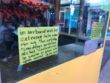 Extreme hitte dwingt attractie De Pony's elke middag te sluiten op Tilburgse kermis