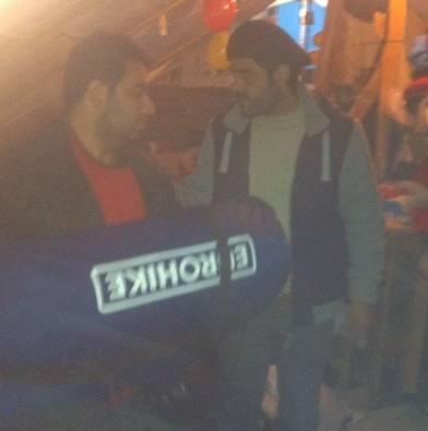 Iraakse Koerd Bech is magazijnmeester in het vluchtelingenkamp van Grande-Synthe, in de buurt van Duinkerke.