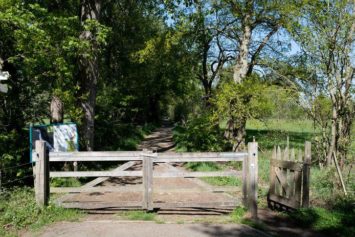 Een van de toegangen tot het Mechels Broek