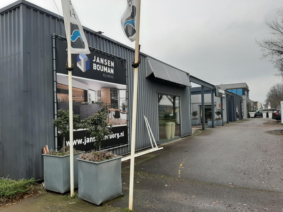 Bouwbedrijf Jansen Terborg aan de Fabriekstraat in Doetinchem.