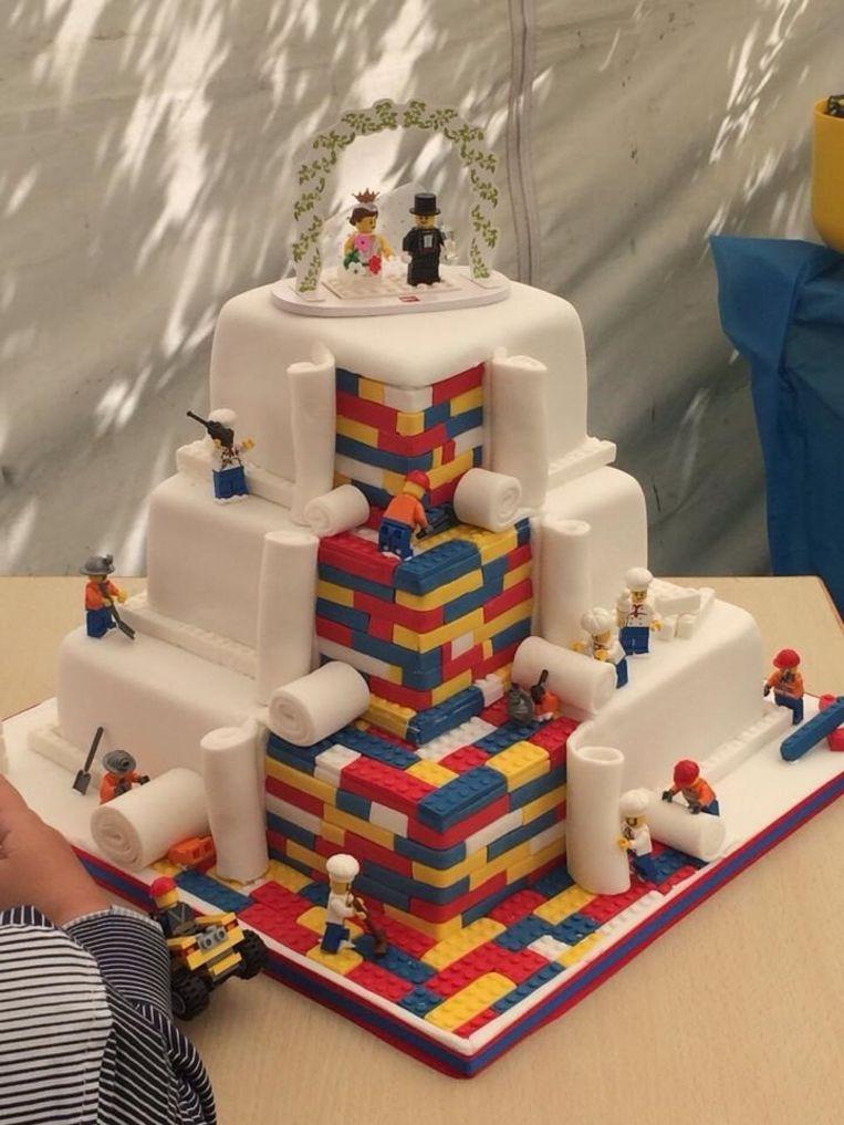 lego taart Kinderdromen worden werkelijkheid: deze Lego taart is té cool  lego taart