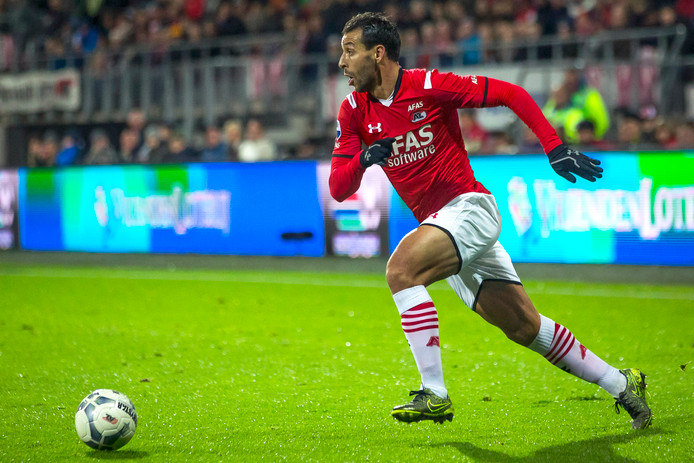 Mounir El Hamdaoui, toen nog actief bij AZ