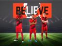 Romelu Lukaku (links), Eden Hazard (midden) en Kevin De Bruyne (rechts) werden allemaal belogen door hun makelaar