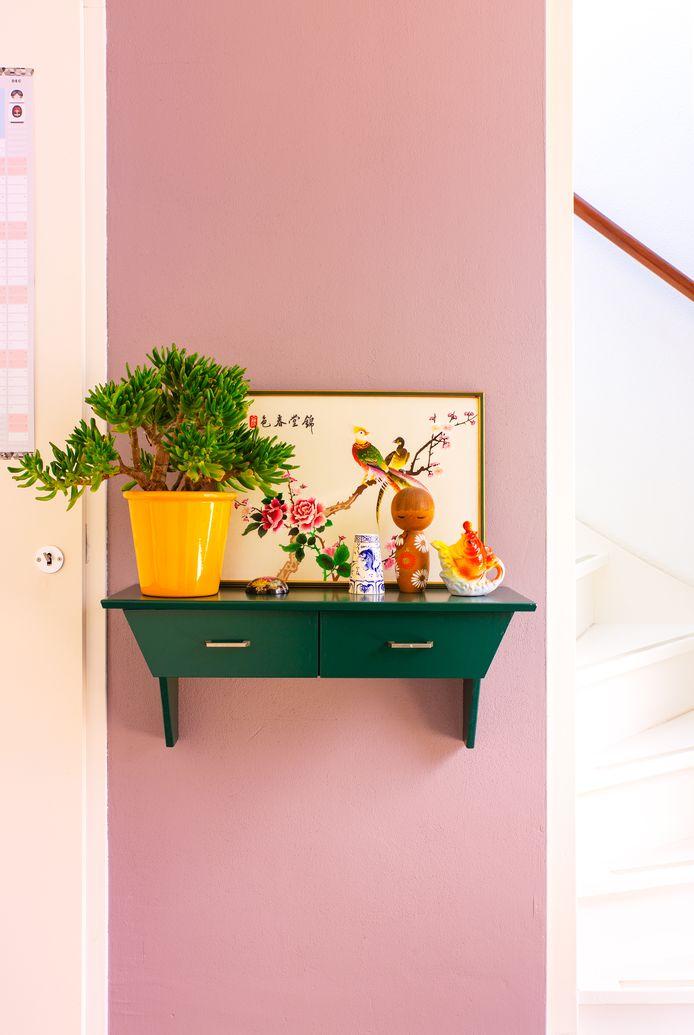 Marlous Snijder heeft ook elementen chinoiserie in haar eigen huis.
