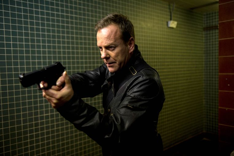Kiefer Sutherland in '24'.  Beeld 24: Live Another Day