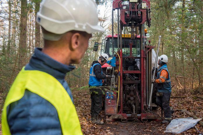In november vorig jaar waren er onder meer in Casteren proefboringen om te onderzoeken of de diepliggende aardlagen geschikt zijn voor winning van aardwarmte. Foto ter illustratie