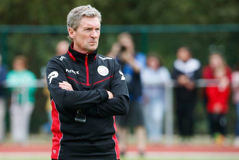 Francky Dury: 'We verloren vier belangrijke spelers. Die vervang je niet zomaar.' Beeld BELGA