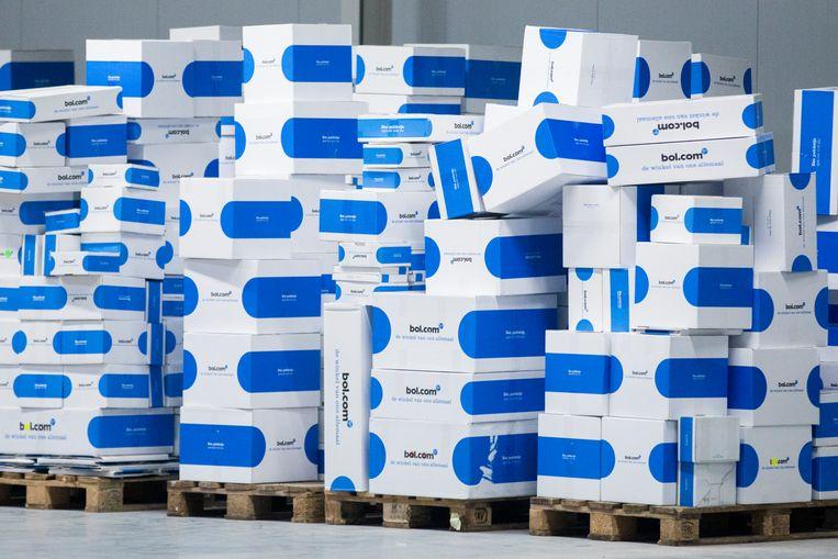 Pakketten van bol.com. Beeld ANP