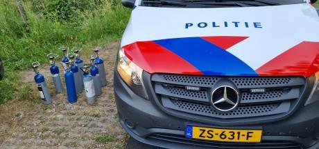 Wagen volgeladen met lachgas: boete voor Doetinchemmer (25) in Winterswijk