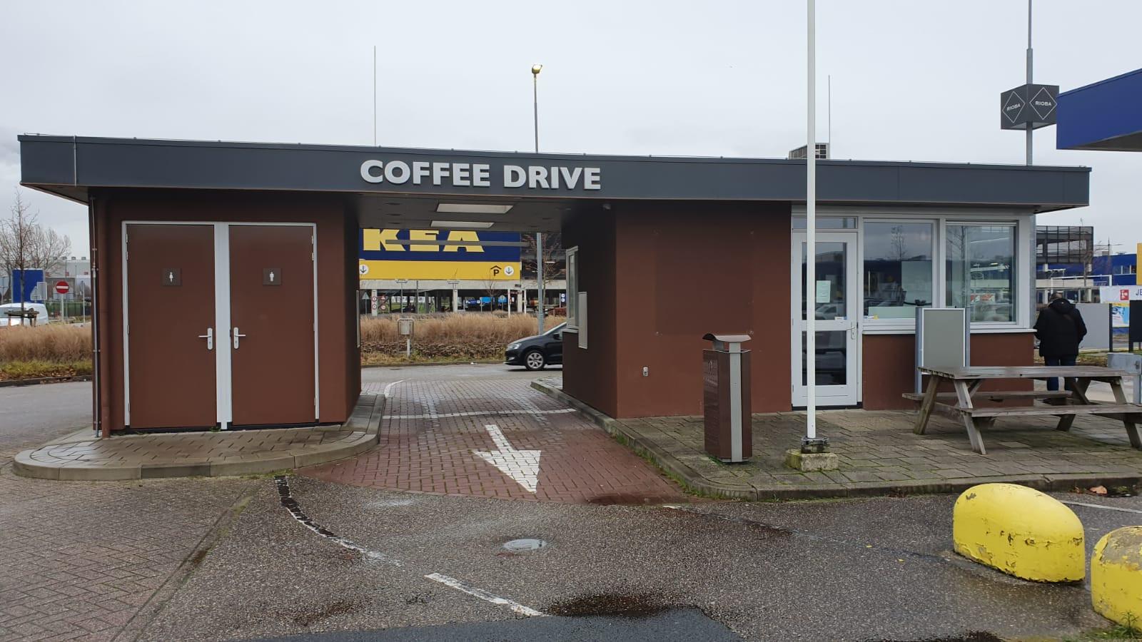 Op het pand van de voormalige coffee drive in Duiven komt 'Chico's Drive' te staan, is het plan.