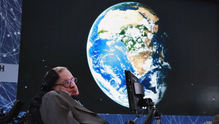 Stephen Hawking. Beeld reuters