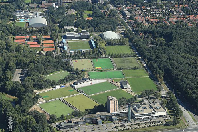 De Genneper Parken in Eindhoven.