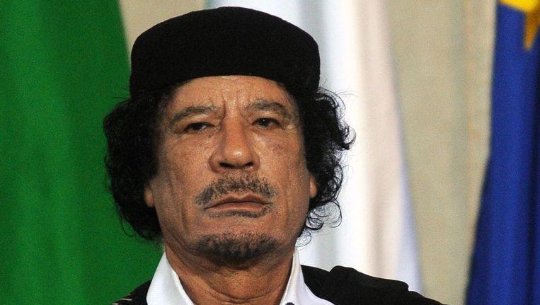 De voormalige dictator Mouammar Kadhafi. Beeld PHOTO_NEWS