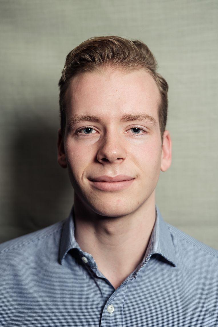 Jaimy van Rossum: 'Misschien is het ergens goed voor.' Beeld Jakob van Vliet