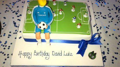 Verdediger Chelsea als Sideshow Bob op zijn verjaardagstaart