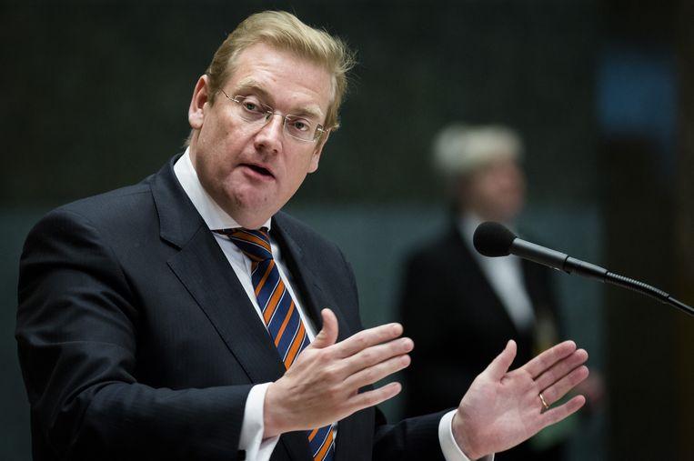 Minister Van der Steur van Veiligheid en Justitie Beeld anp