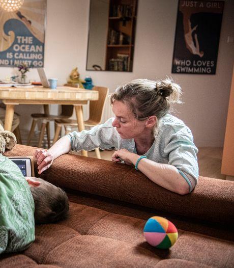 Heftig jaar vol tegenstrijdigheden met onverwachte conclusie: gehandicapte zoon Job is verliefd op corona