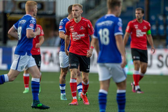 De verschillen op het middenveld zijn klein bij Helmond Sport, waar Jellert van Landschoot (foto), Gaétan Bosiers en Jarno Lion vooralsnog de voorkeur krijgen.