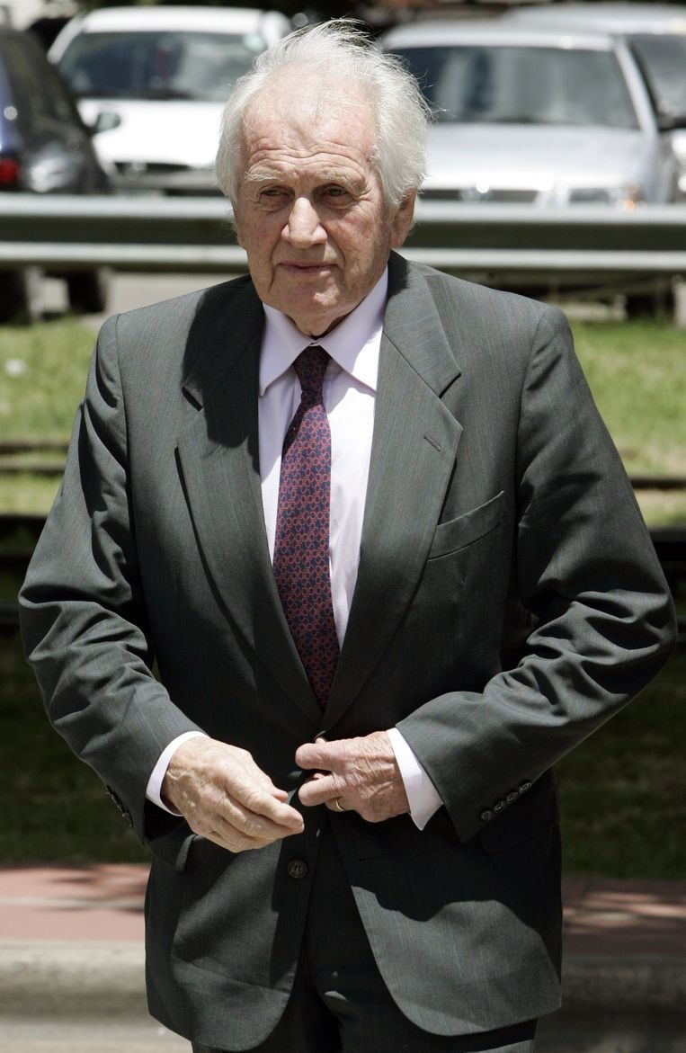 Archieffoto: Jorge Zorreguieta in 2005. Beeld anp