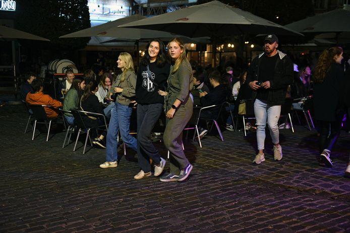 Leuvense studenten vinden vlot de weg terug naar Oude Markt