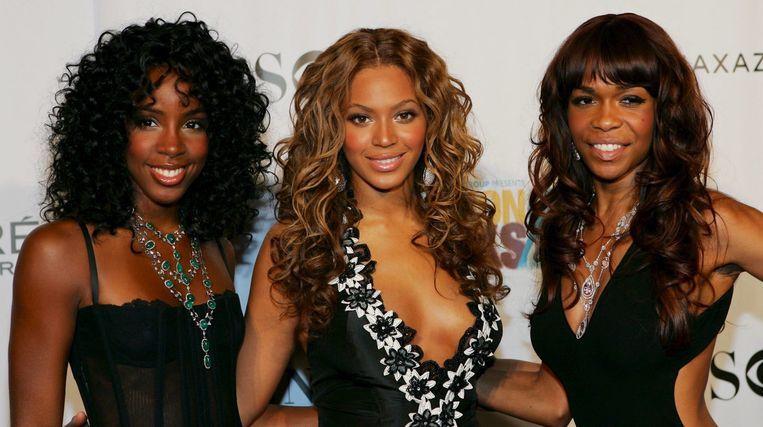Van links naar rechts: Kelly Rowland, Beyoncé en Michelle Williams - de meiden van Destiny's Child
